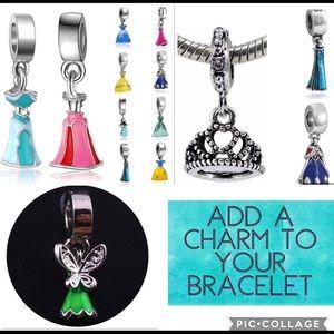 Disney Jewelry - .925 Disney Frozen Charm Bracelet